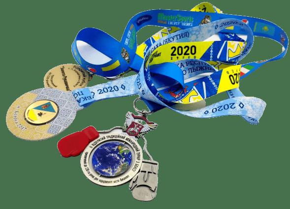 Шнурки для медалей